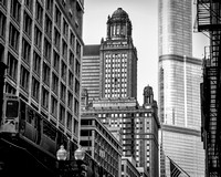 The El and the Jewelers Building